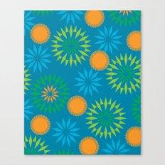 Spikey Flower Calm Canvas Print
