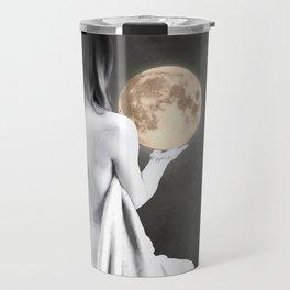Moon Contemplation Travel Mug