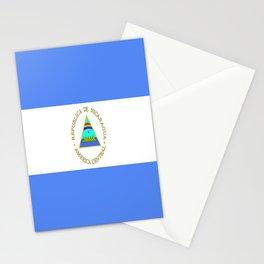 flag of nicaragua - Nicaraguans,Nicaragüense,Managua,Matagalpa,latine. Stationery Cards