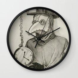 Doctor Plague Wall Clock