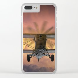 Loud Planes Fly Low Clear iPhone Case