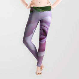 Bloom and Buds Paling to Purple Leggings