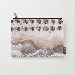 Ocean Beach Print, Aerial Beach, Australia Bondi Beach, Aerial Photography, Ocean Waves, Waves Print, Sea Print, Modern Home Decor, Art Print Carry-All Pouch