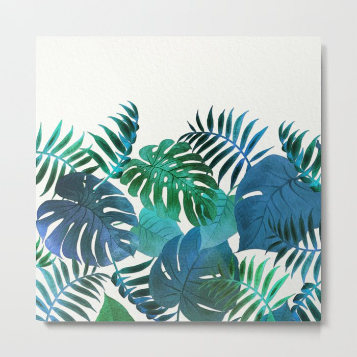 My Tropical Garden 18 Metal Print