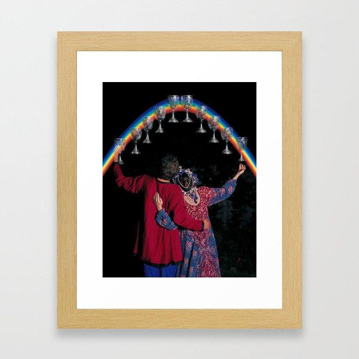 10 of Cups Framed Art Print