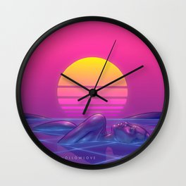 Hollowlove Diamond Mine Wall Clock
