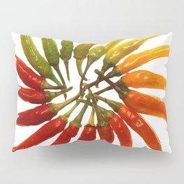 Chili Color Wheel Vector Pillow Sham