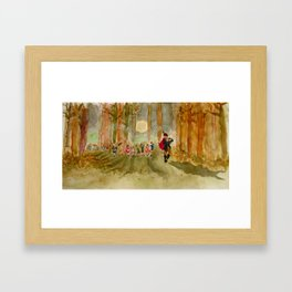 The Pied Piper Framed Art Print