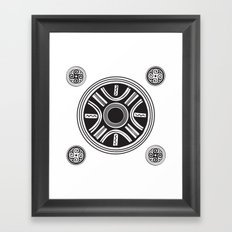Cucuteni Legacy Framed Art Print
