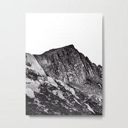 Beinn Nuis summit rocks Metal Print