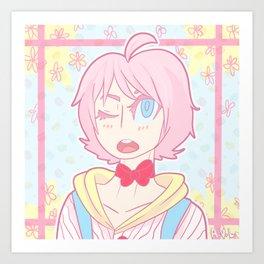 Pretty Boy Sheep-O Art Print