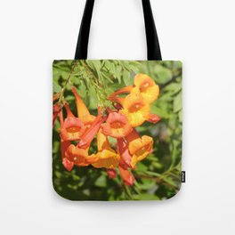 Natural Brass Blowing in the Breeze Tote Bag