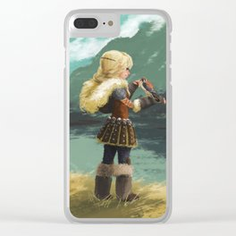 Little wings Clear iPhone Case