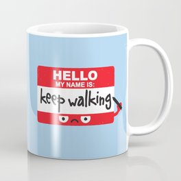 The Red Badge of Discourage Coffee Mug