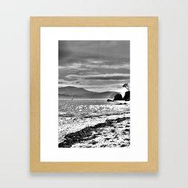Light.  Framed Art Print