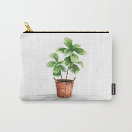 Wicker Planter Carry-All Pouch