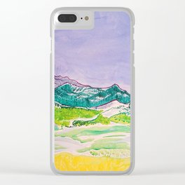 Spring Snow Clear iPhone Case
