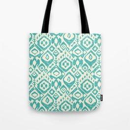 lezat turquoise Tote Bag