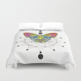 Psycho Cat Duvet Cover