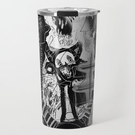 The Evil inside - mural 02 Travel Mug