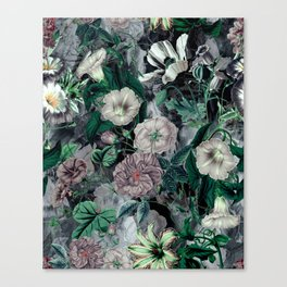 Floral Camouflage VSF016 Canvas Print