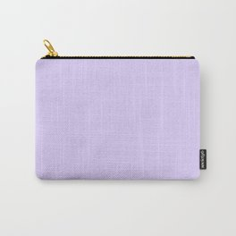 Lilac Purple Carry-All Pouch