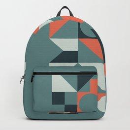 Mid Century Geometric 08 Backpack