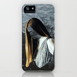 Crumbling Face iPhone Case
