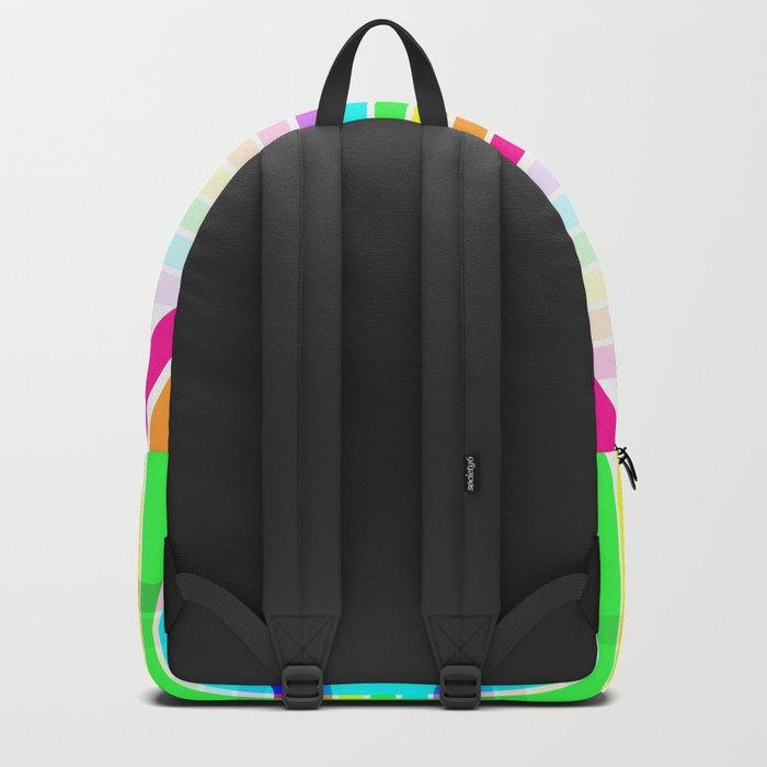 Weaved Rainbow Backpack