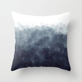 Jungle Haze Throw Pillow