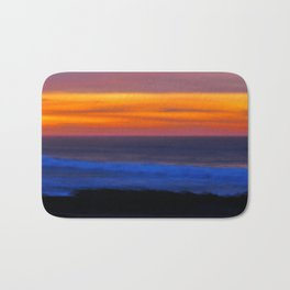 Lovely Sunset - Casablanca Morocco Bath Mat