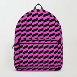 Race Car in Bright Pink Backpack
