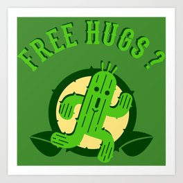 Free Hugs II Art Print
