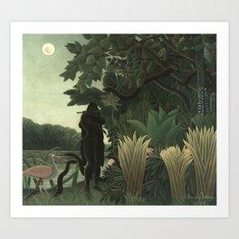 Henri Rousseau - The Snake Charmer Art Print