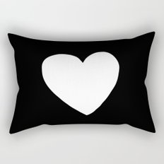 Big Heart Rectangular Pillow