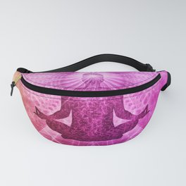 Abstract Psychedelic Yoga / Meditation Design Fanny Pack