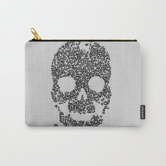 Panda is Cool (Grey) Carry-All Pouch
