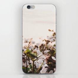 Cotton Field 6 iPhone Skin