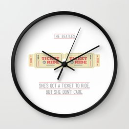 Ticket to Ride Wall Clock