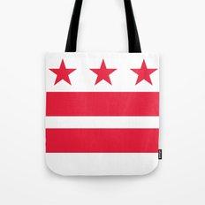 Washington D.C Flag, High Quality image Tote Bag