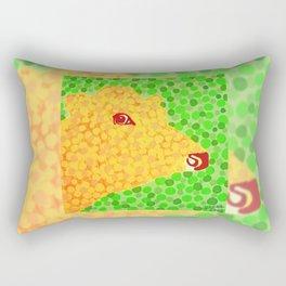 The Orange Cow Rectangular Pillow