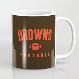 Browns Football Coffee Mug