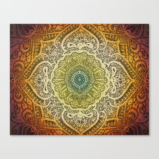 Bohemian Lace Canvas Print