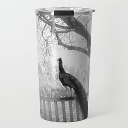 Bench Peacock Travel Mug