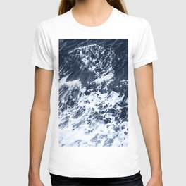 Marble Ocean Indigo T-shirt