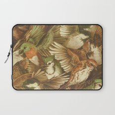Red-Throated, Black-capped, Spotted, Barred Laptop Sleeve