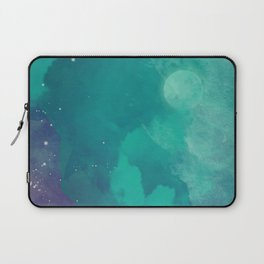 Watercolor night sky Laptop Sleeve