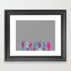 Manos Framed Art Print