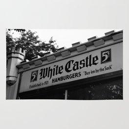 White Castle Hamburgers Rug