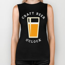 Craft Beer O'Clock Biker Tank